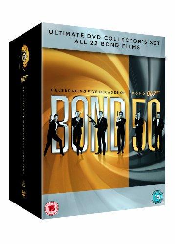 Bond 50 [22 Film]Dvd Collectio [Edizione: Regno Unito]