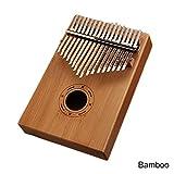 Kalimba Mbira Sanza Klaviertastatur, 17 Tasten, Marimba-Holz, Musikinstrument