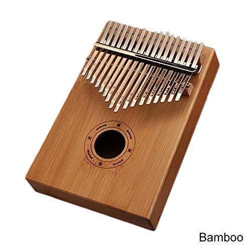 Kalimba 17 Hochwertiger Profi-Klavier Akustik Klavier Daumen Instrument Kino bambus