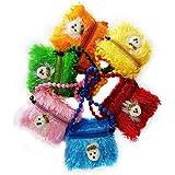 RAAYA Kids Soft Hand Bag Set For Girls, Multi Color, 100 Gram, 6 Pcs, Pack Of 1 (Model No - 10793)