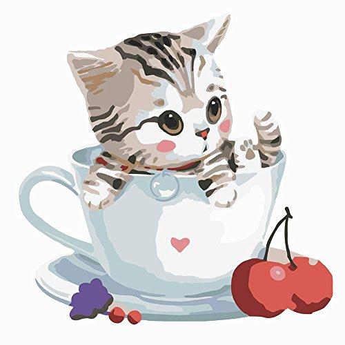 dipinti-colori-cute-cat-in-coppa-del-salone-della-casa-di-office-picture-decor-regalo-della-vernice-