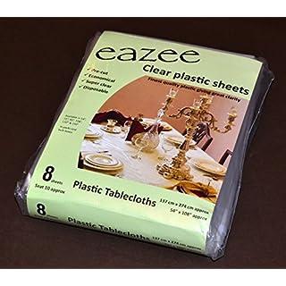 EAZEE Plastic Table Cloth (274cmx137cm(108