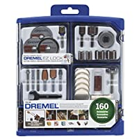 ‏‪Dremel 710-08 All-Purpose Rotary Accessory Kit, 160-Piece‬‏