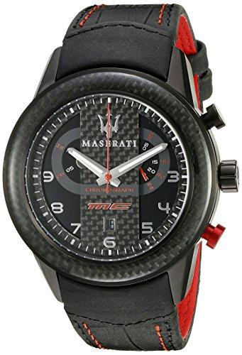 maserati Reloj De Pulsera Maserati Corsa R8871610004 Reloj Caballero Crono Acero 100M NEGRO