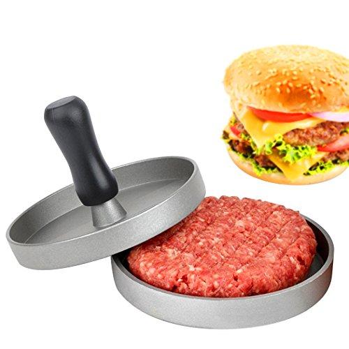 Hamburger Maker Grill, Fozela Profi Hamburgerpresse / Aluminium beschichtet / DIY Mold Special für Burger Maker und Grill Presse Mould - 2