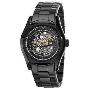 Emporio Armani AR1414 Mens Mecchanico Black Watch