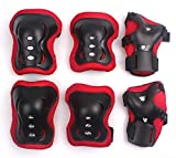 #4: Aurion Skating Guard Set (Head,Knee,Elbow & Palm Guard) Assorted colors