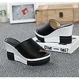 LVZAIXI Zapatos Zapatillas de mujer Zapatillas de mujer de moda Zapatillas de mujer de verano con...