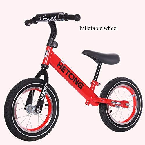 Bicicleta Sin Pedales Para Niños, Equilibrio Bici Juguetes Bebes Balance Entrenamiento Marco De Aleación...