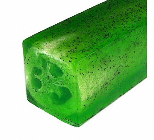 Lime & timo Loofah sapone. Peso: circa. 115 gr.. Un