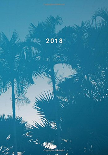 Monthly Planner 2018 - Water Color Palm Tree Cover: Calendar Year Journal / Monthly Organizer Book / Professionally Designed Agenda 7