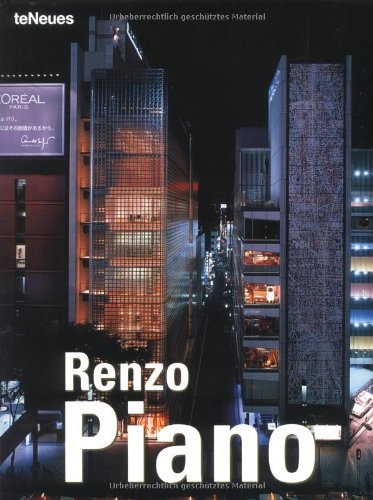 Renzo Piano (Archipockets) (English, Italian, French and German Edition) by Aurora Cuito (2002-10-02)