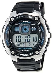 Casio Collection AE-2000W-1AVEF Orologio Digitale da Polso da Uomo, Resina, Nero