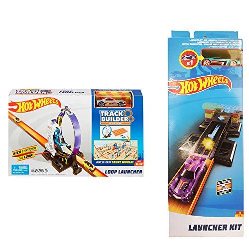 Hot Wheels Pack Launcher Kit + Loop Launcher