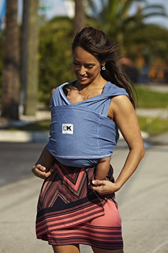 Baby K'tan Cotton Denim Baby Carrier (Small)