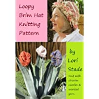 Loopy Brim Hat Knitting Pattern (English