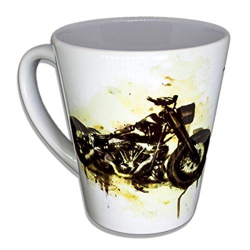 Harley Customizing - Handarbeit Designer Tasse aus brillanten Porzellan Unikat - Tasse, Becher,...
