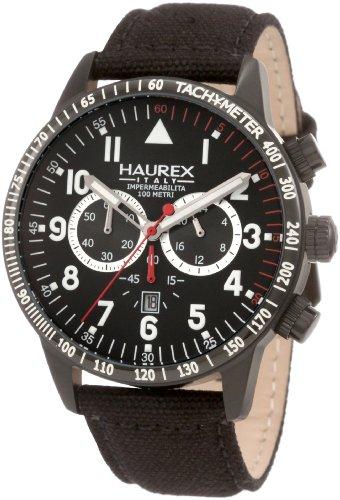 Haurex Italy Men's 9N300UNN Red Arrow Chronograph Watch