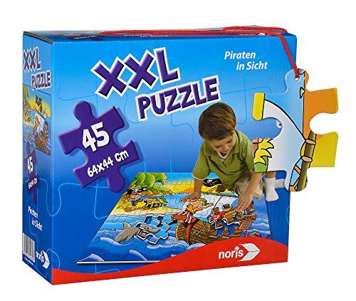 34960-XXL Riesenpuzzle Piraten, 45 Teile (64 x 44 cm) ()