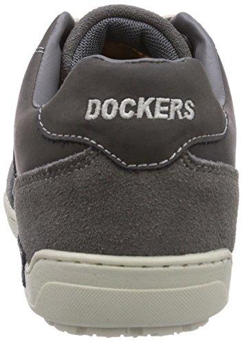 Dockers by Gerli 32CE015-208200, Scarpe Derby con lacci uomo Grigio (Grau (grau 200))