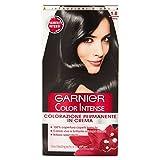 Garnier Garnier Color Intense Colorazione Permanente in Crema, 1.0 Nero