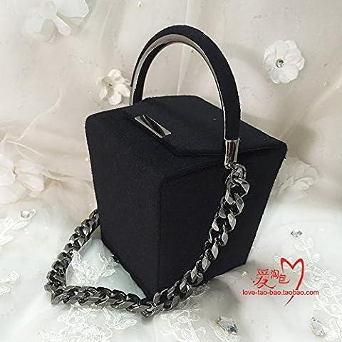 Mini abito femminile raffinata borsa perla borsetta Borsa serale