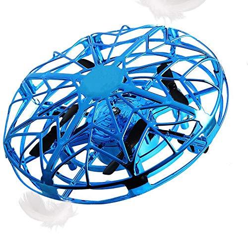 Vegena Mini Drohne für Kinder, UFO Spielzeug RC Fliegender Ball, Hubschrauber Quadrocopter mit LED Licht, Infrarot Induktions Flying Ball Helicopter Fliegendes Spielzeug Geschenke für Jungen Mädchen