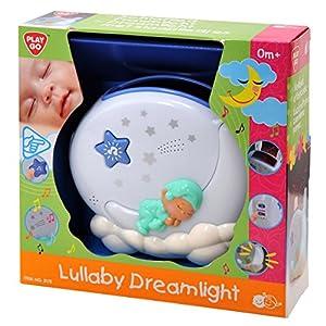 PlayGo 2172-Dormir canción-sueño Luz, Funciona con Pilas, Color Azul