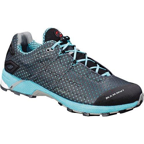 Mammut  MTR Remote, chaussures de sport - randonnée femme - graphite/light turquoise