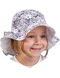 TuTu by Galeja Mädchen Schlapphut 100% BW Sommerhut 3 Farben Größe 50-52 und 54-56 Kindermütze