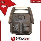 Schlüsselgehäuse Gehäuse Schlüssel Fernbedienung 3 Tasten Neu Ersatz Tastenfeld Rubber Pad