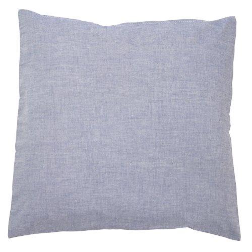 Sugarapple Kinder Kissenbezug 50cm x 50cm mit Reißverschluss, Kissen Bezug aus 100% Öko-Tex Standard 100 Baumwolle, ideal als Bezug für Dekokissen, Sitzkissen oder Kopfkissen, Oxford dunkelblau
