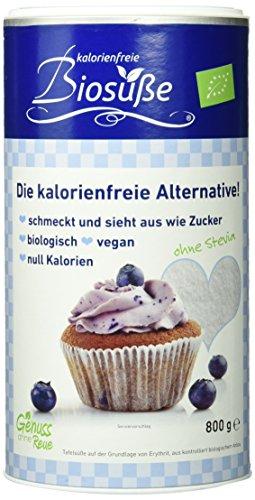 BIOSÜSSE Kalorienfreie Biosüße Dose, 1er Pack (1 x 800 g) (Diät-süße)
