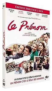 Le prénom : le film + la pièce de théâtre [Édition Prestige]