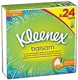 Kleenex Balsam Taschentücher Pocket, 4er Pack (4 x 24 Stück)