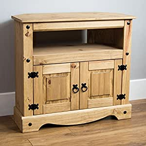 Home Discount Corona Corner TV Cabinet
