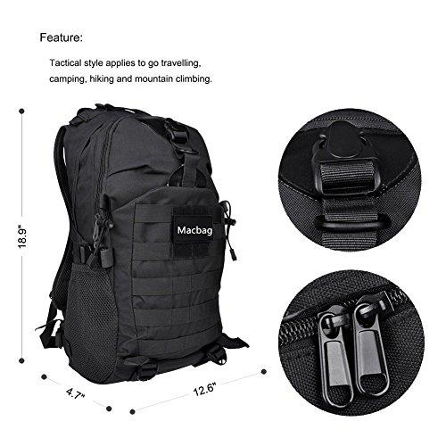 Imagen de macbag tactical  bolsa de viaje para actividades al aire libre senderismo escalada camping etc negro, 35 l  alternativa