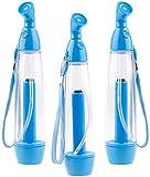 PEARL Druckpumpzerstäuber: 3er-Set Pumpdruck-Wasser-Zerstäuber zur Abkühlung an warmen Tagen (Hand-Wasserzerstäuber)