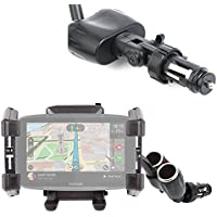 DURAGADGET Soporte De Coche Flexible para GPS Tomtom One 3rd Edition, Start 42 / EasySMX