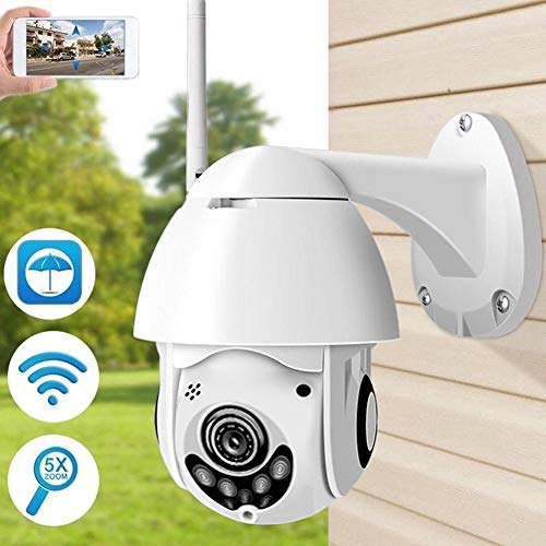 Oddity Überwachungskameras Schwenkbare Kameras Security Cameras 1080p HD Outdoor Wireless Smart Camera with Night Vision (Outdoor Wireless Cam)