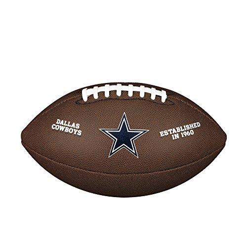 WILSON NFL Team Logo Composite Fußball, Dallas Cowboys, Official