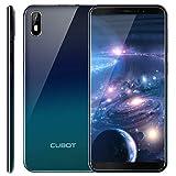 CUBOT J5 Smartphone Dual SIM Android 9.0, Télephone Portable débloqué Écran FHD 5,5 Pouces (18:9) 2800mAh Batterie, 2Go-16Go (Extensible à 32Go) Double Camera 13MP+2MP/ 8MP Identité faciale