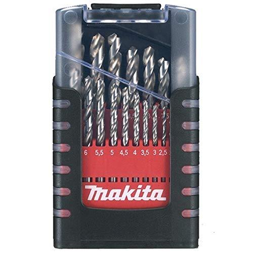 Makita D-29941 - Estuche de brocas cilíndricas HSS para metal