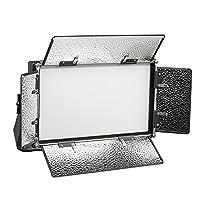 ikan LB5 Lyra Bi-Colour Soft Panel Half x 1 LED Light - Black