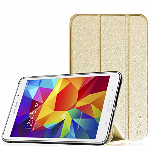 Fintie Samsung Galaxy Tab 3 7.0 (7 Zoll) SM-T210 SM-T211 Hülle Case - Ultra Slim Schutzhülle Tasche Etui mit Standfunktion (Nicht kompatibel mit der Tab 3 7.0 Lite), Gold