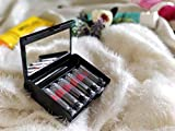 Generic Attitude Lipstick Travel Pack of 6 Different 3 Matte and 3 Creme Shades