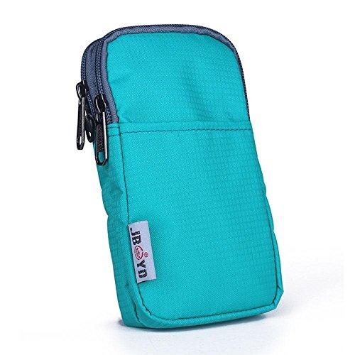 BUSL Wandern Hüfttaschen Outdoor-Freizeit-Handy-Paket Multifunktionstaschen Vertikalschnitt Männer Schulter Messenger Bag Damentasche b