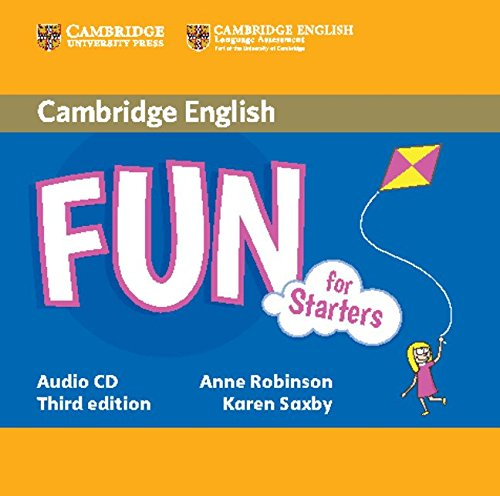 Fun for Starters Audio CD Third Edition (Cambridge English)