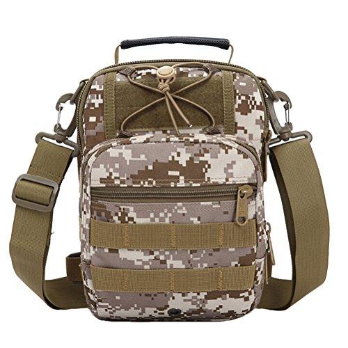 MatchLife , Herren Schultertasche Camouflage4 Camouflage4