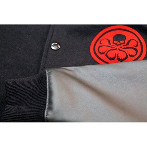 Teddy Hydra–Hydra Logo Flock Schwarz - Schwarz